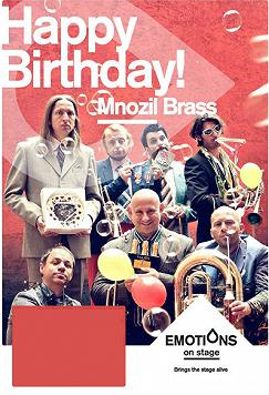 "Mnozil Brass. ""HAPPY BIRTHDAY"""